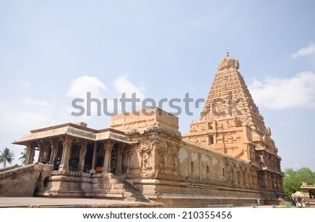 gangaikondacholapur am temple southern india