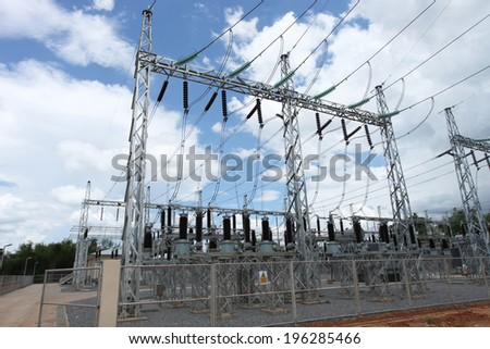 Gantry or Take Off Structure of switchgear
