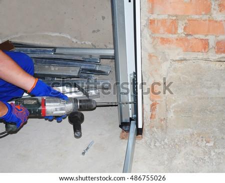 garage door u0026 replacement install garage door u0026 garage door opener how to