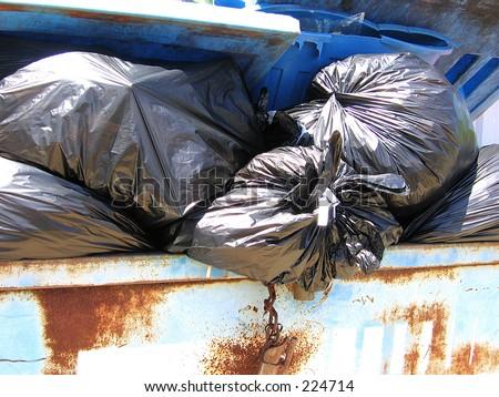 Garbage 2 - stock photo