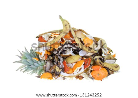 garbage heap - stock photo