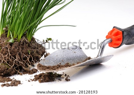 garden accessories - stock photo