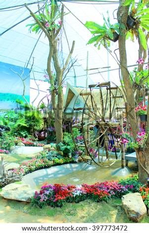 Garden Design - stock photo