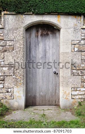 Garden Doorway - stock photo