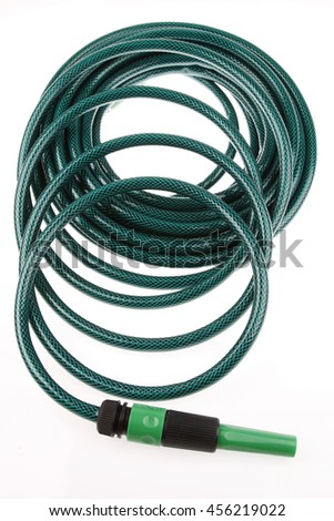 Coiled Garden Green Hose Stock Photos Royalty Free Images