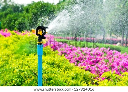 Garden Sprinkler Stock Images Royalty Free Images Vectors