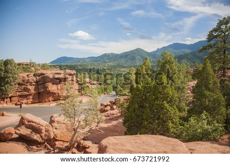 Garden Of The Gods Stock Images Royalty Free Images Vectors Shutterstock