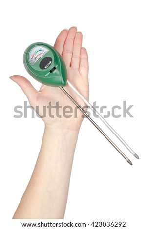 Ph meter stock images royalty free images vectors for Gardening tools philippines