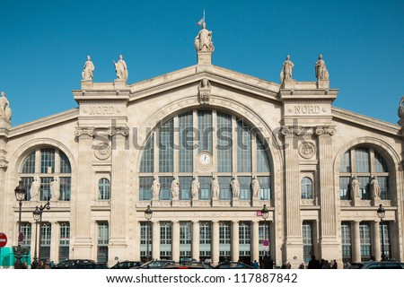 Gare du Nord Paris France