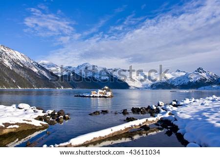 Garibaldi Provincial Park - stock photo