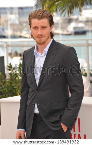 "Garrett Hedlund at the photocall for his movie ""Inside Llewyn Davis"" in competition at the 66th Festival de Cannes. May 19, 2013  Cannes, France"