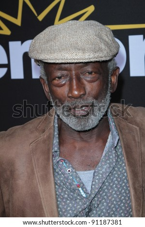 """Garrett Morris at the Premiere Of Encore's """"Method To The Madness Of Jerry Lewis,"""" Paramount Studios, Hollywood, CA 12-07-11 - stock photo"""