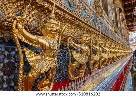 Garuda-Garuda of Wat Phra Kaew The Temple of Emerald Buddha in Bangkok, Thailand