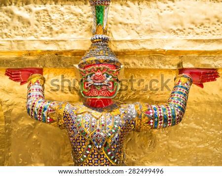 Garuda in Bangkok, Thailand - stock photo
