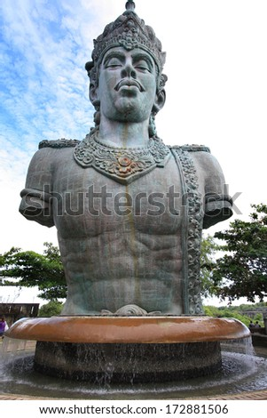 Garuda Wisnu Kencana Statue - stock photo