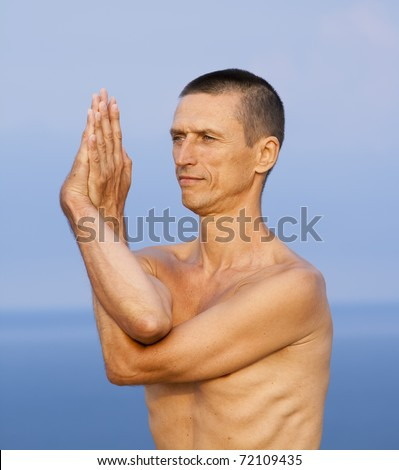 garudasana stock photos images  pictures  shutterstock