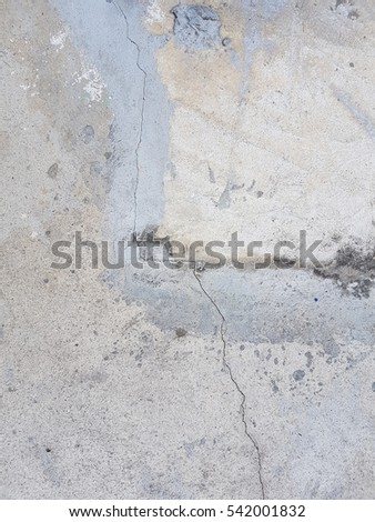 Gary cement texture used for background