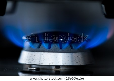 Gas Cooker - stock photo