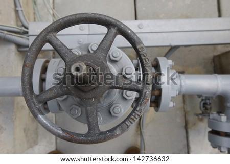 Gas equipment - stock photo