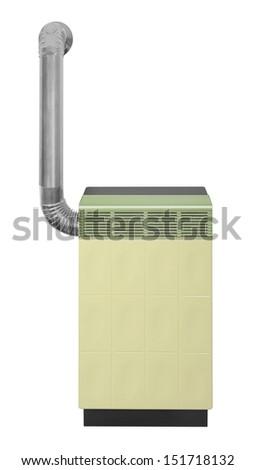Gas heater - stock photo