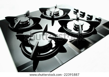 Gas Oven - stock photo