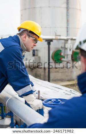 Gas Production Operator Stock Photo 246171982 - Shutterstock