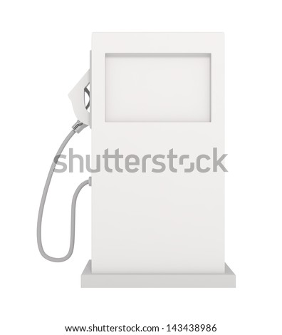 Gas Station - Gas Pump - 3d illustration