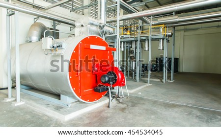 Gas Steam Boiler Stock Photo (Royalty Free) 454534045 - Shutterstock