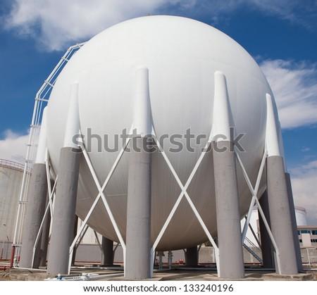 Gas Tank - stock photo