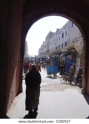 Gateway - EssaouriA - stock photo