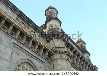 Gateway of India, Mumbai - stock photo