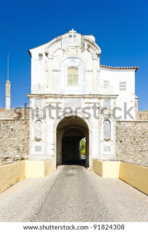 gateway to Elvas, Alentejo, Portugal