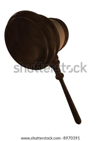 gavel - stock photo