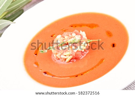 Gazpacho - stock photo