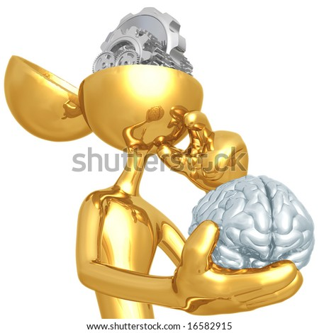 Gear Mind - stock photo