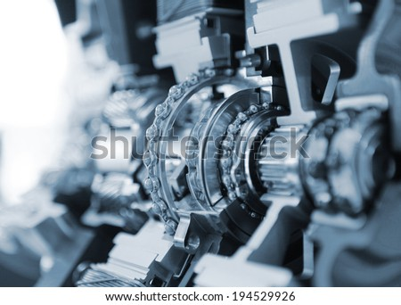 gear set - stock photo