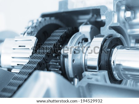 gear set - stock photo