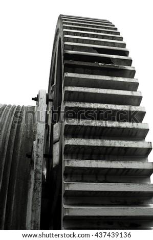Gear Wheel - stock photo