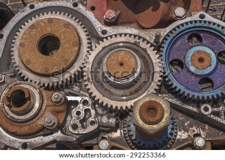Gear Wheels. Gear Train