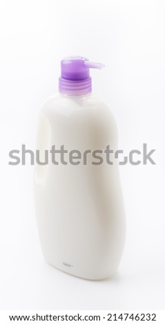Gel, Foam Or Liquid Soap Dispenser Pump Plastic Bottle White.