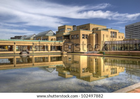Gemeente Museum in The Hague, Holland - stock photo