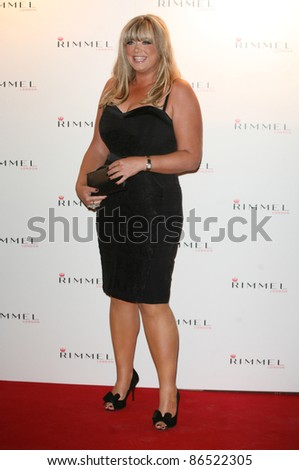 Gemma Collins arriving for the Rimmel Party, at Battersea Power Station, London. 16/09/2011 Picture by: Alexandra Glen / Featureflash
