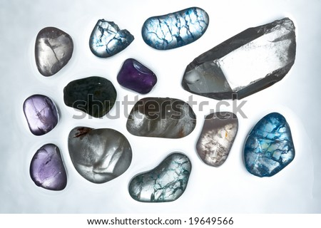 gems in different colours