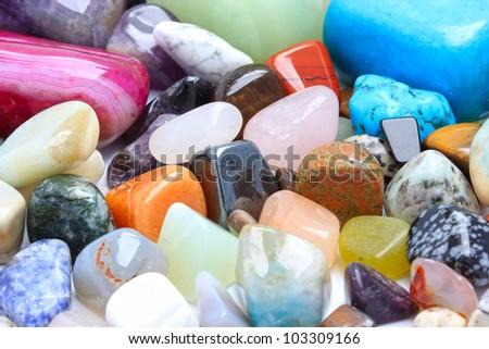 Gemstones - stock photo