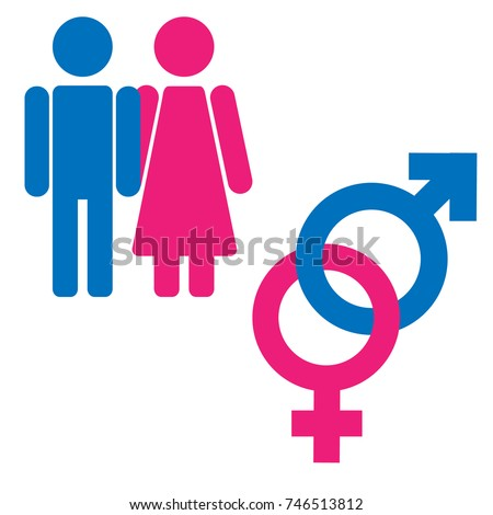 man and woman symbol set relationship rank