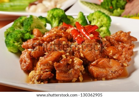 General Tso's chicken  - A Popular Taiwan food