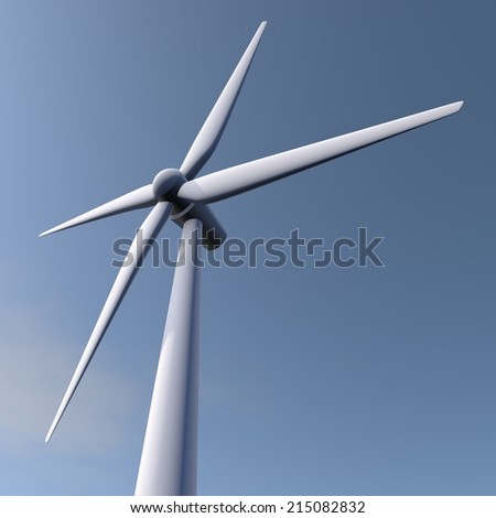 Generating wind energy with a windmill