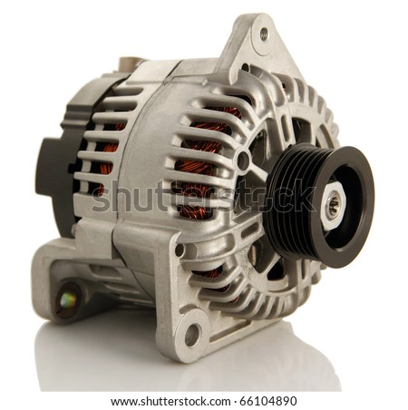 Generic electric automotive alternator isolated