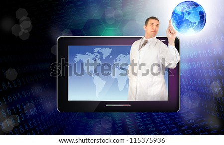 Genetic research - stock photo