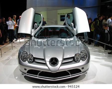 Geneva Motorshow - stock photo